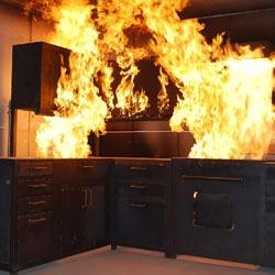 Запах гари после пожара